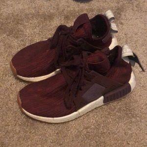 Adidas NMD Maroon Sneakers